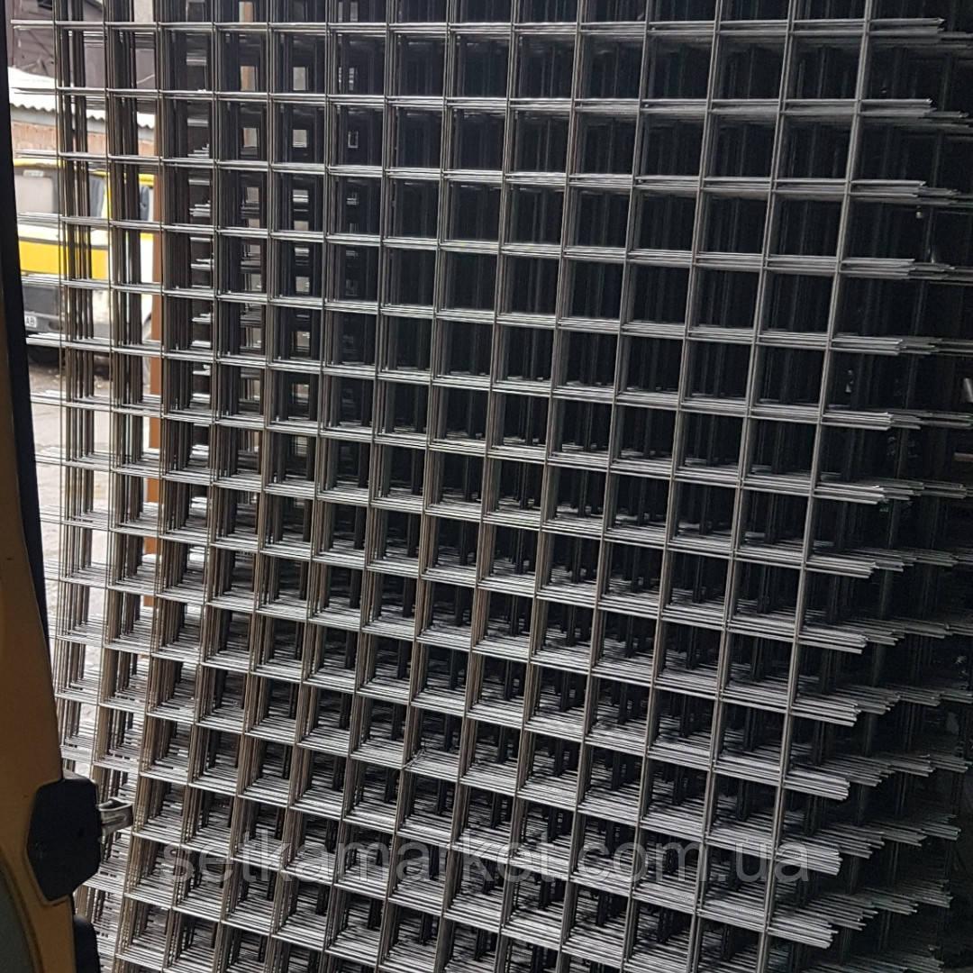 Сетка кладочная, яч 60x60 мм, проволока 3,6 мм, лист 2х1 м.
