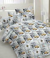 Детское (подростковое) полуторное постельное белье бязь Gold - ТАКСИ