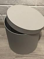 Картонная коробка под цветы ''Круг 2'' 200*200
