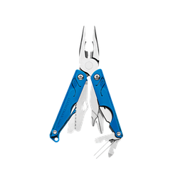 Мультитул LEATHERMAN Leap - Blue / мультиинструмент синего цвета