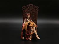 Коллекционная статуэтка Veronese Девушка с драконом BY ANNE STOKES WU74985AA