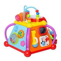 Музыкальная развивающая игрушка для малышей  Лабиринт 806,сортер, мультибокс