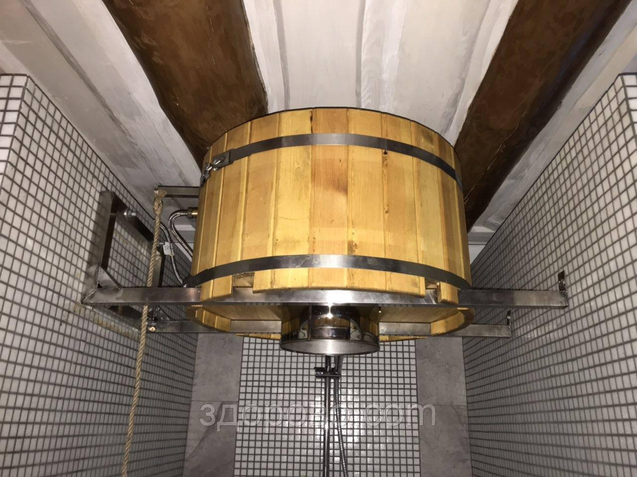 Ведро - водопад для саун и бань, система сброса воды Ливень( WDS)