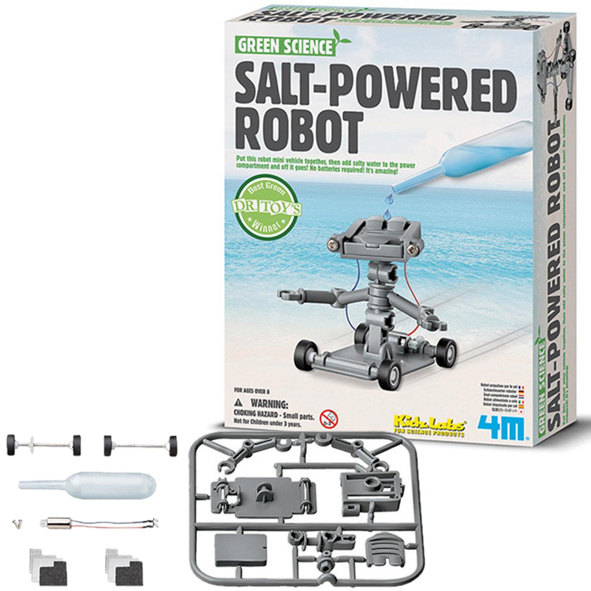 Набор для творчества 4M Робот на энергии соли (00-03353)