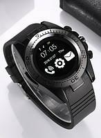Смарт-часы Smart Watch SW007 (Sim карта, Micro SD, секундомер, антивор, микрофон G-sensor, bluetooh) Black