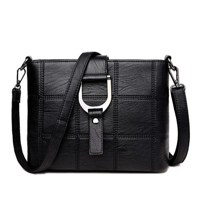 8afcb9b26da0 Женская сумка на плечо KAVARD Черная (KD-23), цена 499 грн., купить ...