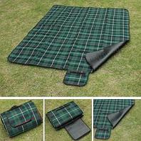Коврик для пикника  размер 150 *180 см- Зеленый
