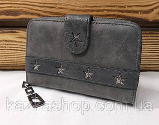 Женский кошелек из искусственной кожи, на молнии, 3 купюрницы, для 16 карт, фото 2