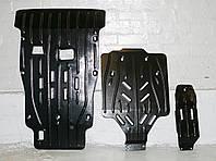 Защита картера двигателя и акпп, ркпп, диф-ла Porsche Cayenne 2003- , фото 1