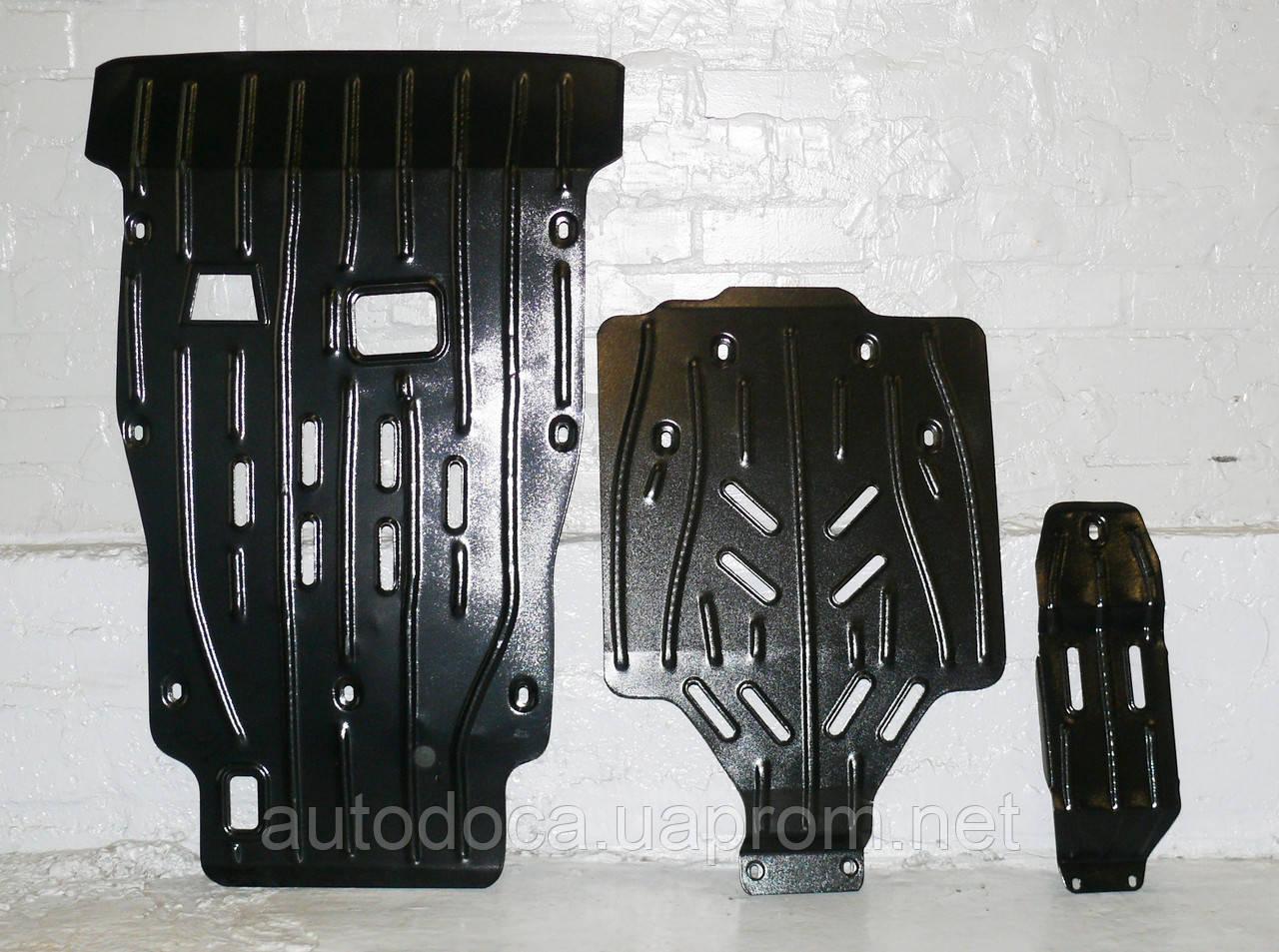 Защита картера двигателя и акпп, ркпп, диф-ла Porsche Cayenne 2003-