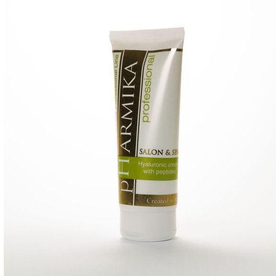 Крем с гиалуроновой кислотой и пептидами - Hyaluronic cream with peptides pHarmika 200 мл