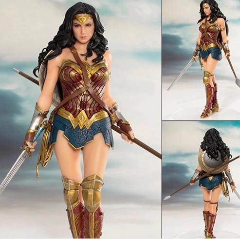 Статуэтка Wonder Woman. Фигурка Чудо Женщина. DC Comics