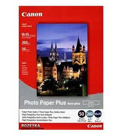 "Фотобумага canon 4""x6"" photo paper plus semi-gloss sg-201 50 листов (1686b015)"