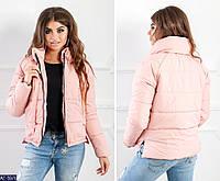 Женская весенняя куртка силикон 200