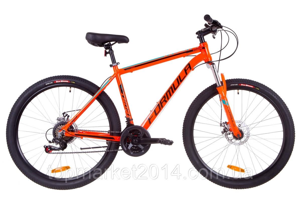 """Горный велосипед FORMULA THOR AL 1.0 AM DD 27,5""""(оранжево-черный с бирюзовым)"""