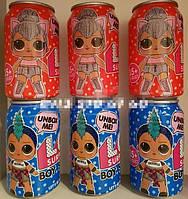 """Кукла сюрприз """"LOL BOY"""" в банке (15 Серия)мальчик. девочка."""