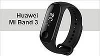 ФИТНЕС-БРАСЛЕТ Smart Watch Mi BAND m3 black (синяя коробка)
