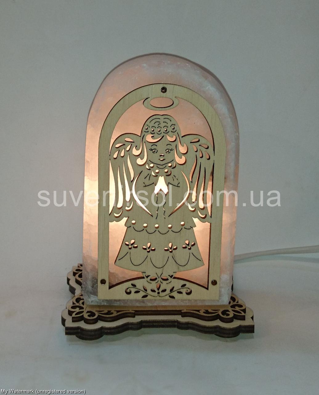 Соляной светильник Арка Ангел 3