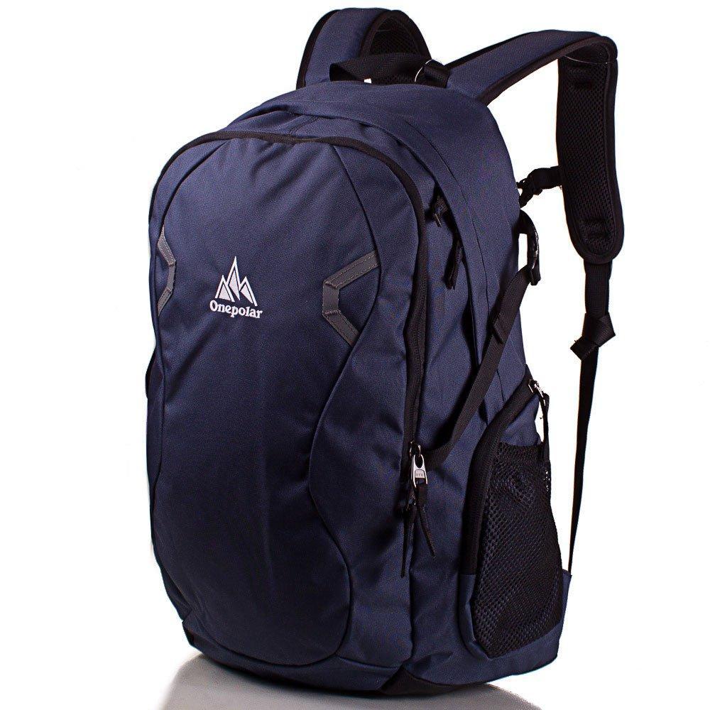 929dd2614175 Мужской рюкзак Onepolar Серый (W1731-navy) - Ближе к телу - недорогой  интернет
