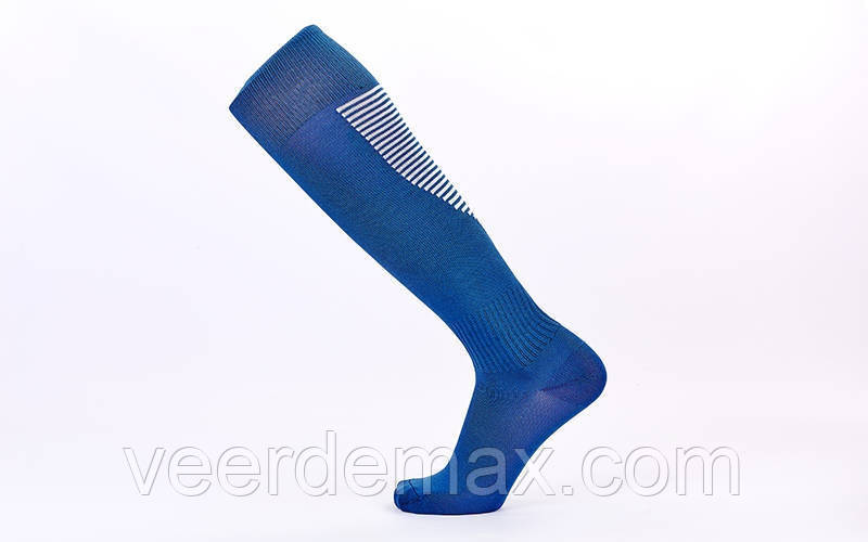 Гетры футбольные взрослые размер 39-44 Цвет темно синие
