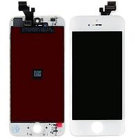 Дисплей (LCD) iPhone 5 с сенсором белый