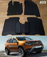 Коврики на Dacia Duster 2 '17-. Автоковрики EVA