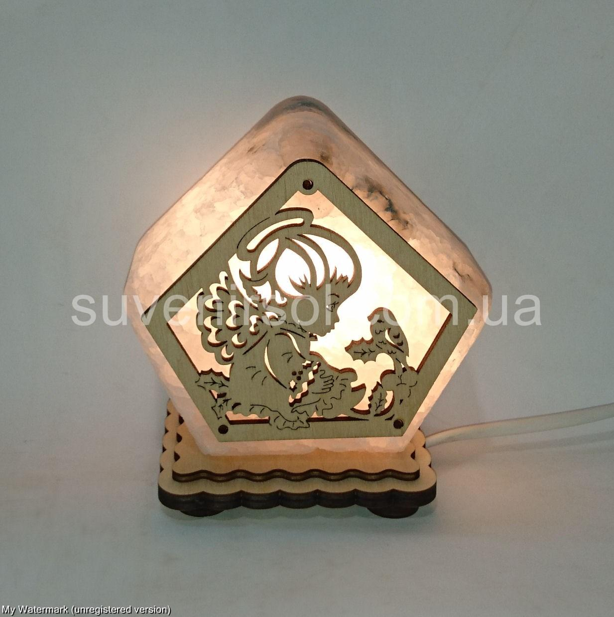 Соляной светильник Ангелок маленький