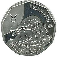 Телятко Срібна монета 2 гривні