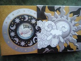 Ягнятко Срібна монета 2 гривні , фото 2