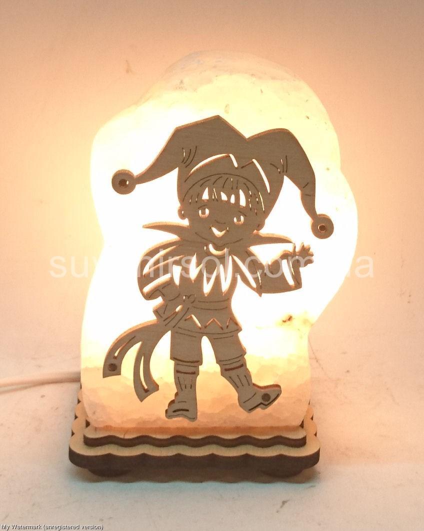 Соляной светильник Шут
