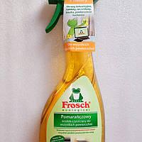 Фрош - средство для чистки всех видов поверхностей на кухне и в ванной Frosch Pomarenczowy  500 мл