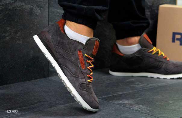 Кроссовки Reebok (коричневые)