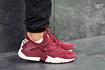 Кроссовки Nike Huarache (бордовые), фото 3