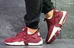 Кроссовки Nike Huarache (бордовые), фото 4