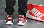 Кроссовки Nike Huarache (бордовые), фото 5