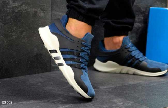 Кроссовки Adidas Equipment ADV 91-17 (сине/белые)