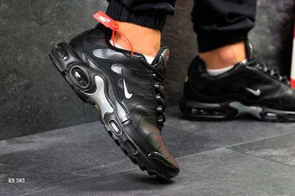 Кроссовки Nike Air Max Tn (черно/серые)