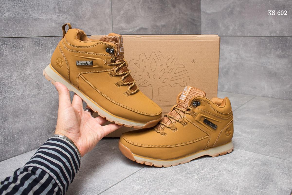 Ботинки Timberland (рыжие)