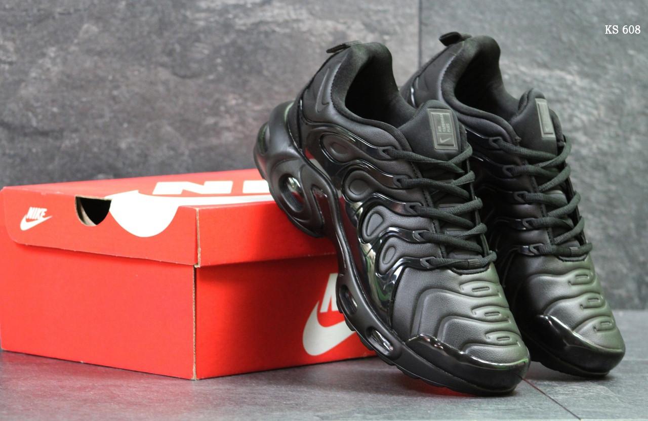 Кроссовки Nike Air Vapormax Plus (черные)