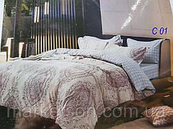 5D постельное белье.Евроразмер.Фланель байка.Колоко, фото 2