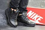 Ботинки Nike Lunarridge (черные) ЗИМА, фото 2