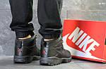 Ботинки Nike Lunarridge (черные) ЗИМА, фото 4