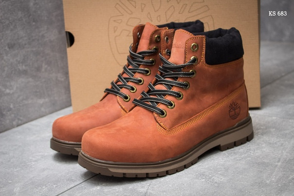 Зимние ботинки Timberland Radford (коричневые) ЗИМА