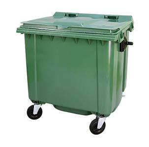 Contenur пластиковый мусорный контейнер 1,1 м3