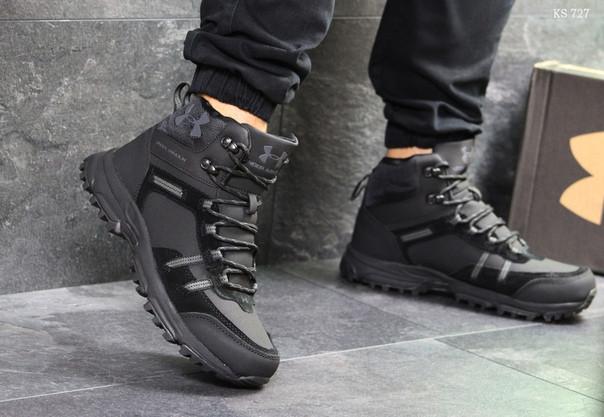 Зимние кроссовки Under Armour (черные)