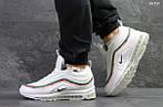 Зимние кроссовки Nike 97 (белые), фото 3