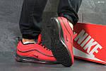 Зимние кроссовки Nike 97 (красные), фото 2