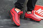 Зимние кроссовки Nike 97 (красные), фото 4