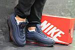 Зимние кроссовки Nike 97 (синие), фото 4