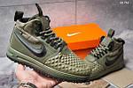 Мужские кроссовки Nike LF1 Duckboot (зеленые), фото 4